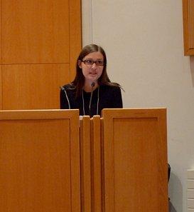 Jennifer Del Vecchio, University of Western Ontario, presenting