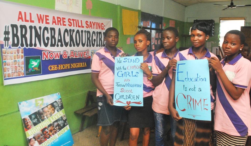 CEE-Hope Chibok Campaign